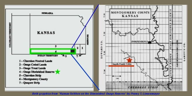 map of Ingalls Osage Kansas