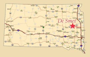 de smet sd map