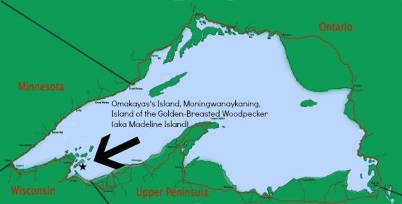 omakayas lake superior islands