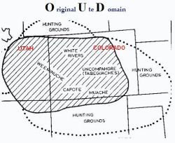 Original Ute Domain Map