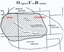 Original Ute Domain Map