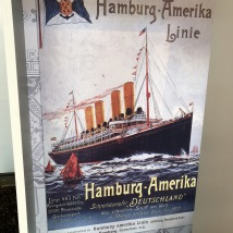 Flyer for travel to America