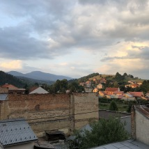 Brezno (view from the balcony)