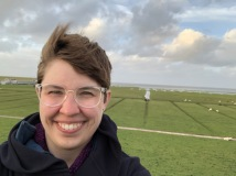 Rebekah and the Nordsee (North Sea)